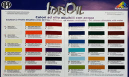 IdrOil Color Chart
