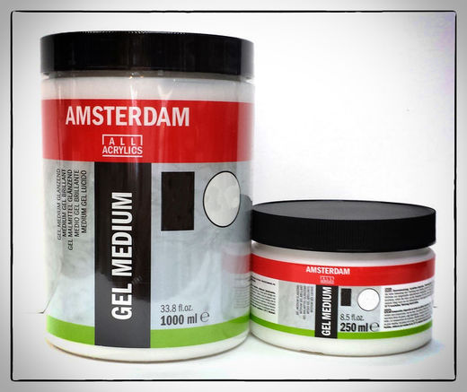 Amsterdam Matt Gel Medium