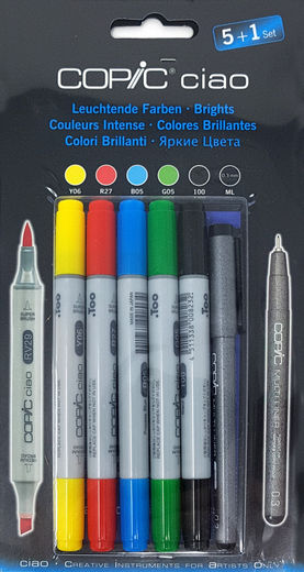 Copic Brights