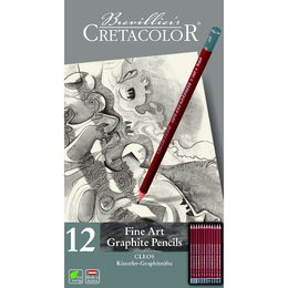 Cretacolor Cleos Fine Art Graphite Pencils