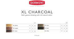 XL Charcoal color chart