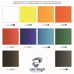 Van Gogh Oil Colors Set 10 x20 ml