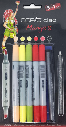 Copic Manga 8