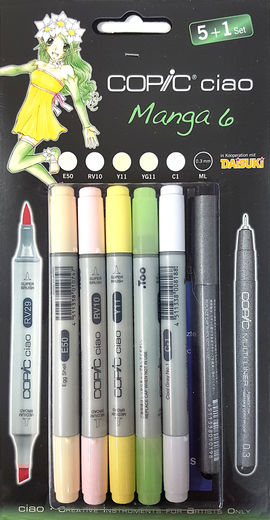 Copic Manga 6