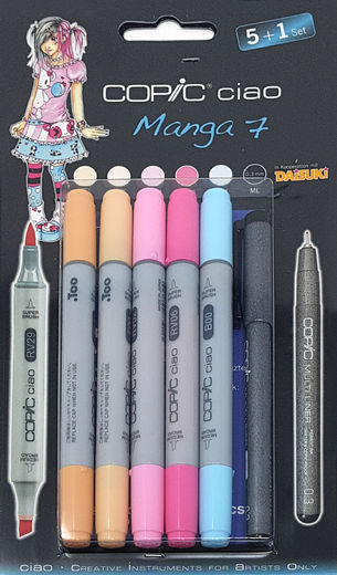 Copic Manga 7
