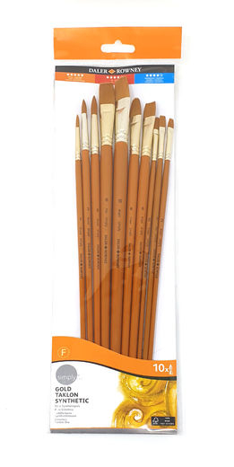 Daler-Rowney Simply 10 Brushes Set