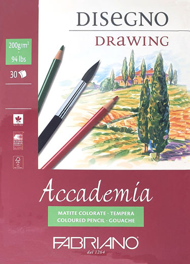 Fabriano Accademia Drawing Paper Pad