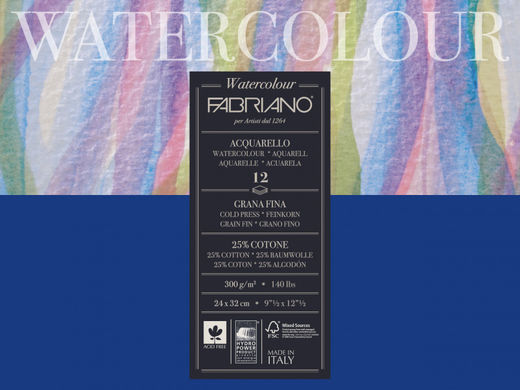 Fabriano Watercolor Paper Cold Pressed