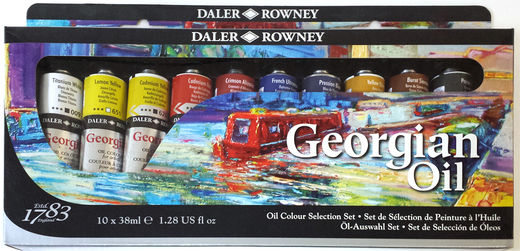 Georgian Oils 10x38ml