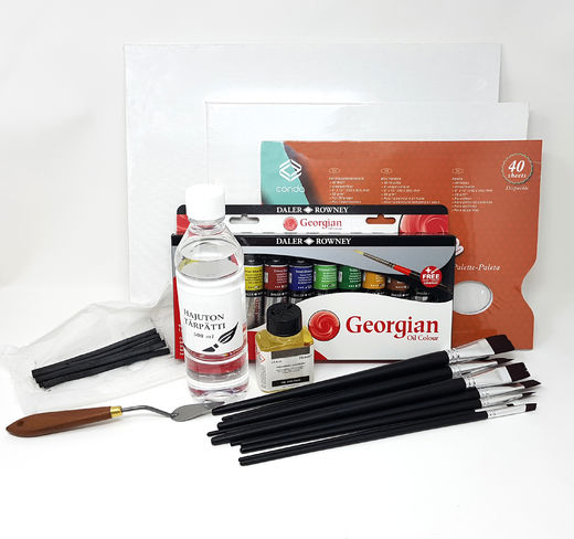 Oil Color Set (turpentine solvent)