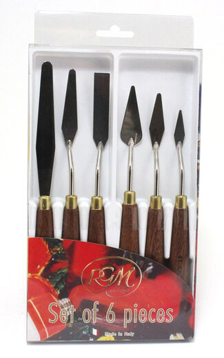Palette Knives Set of 6 pieces
