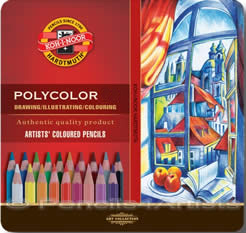 Koh-i-Noor Polycolor pencils