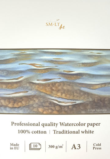 SM-LT Art Watercolor Paper Pad