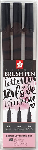 Sakura Pigma Brush Pen Lettering Set