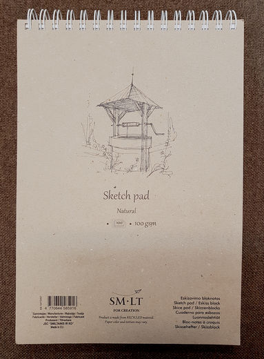 Sketch Pad SM-LT Natural