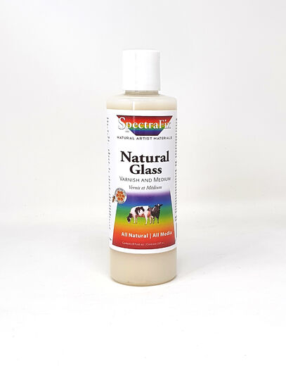 SpectraFix Natural Glass Varnish and Medium
