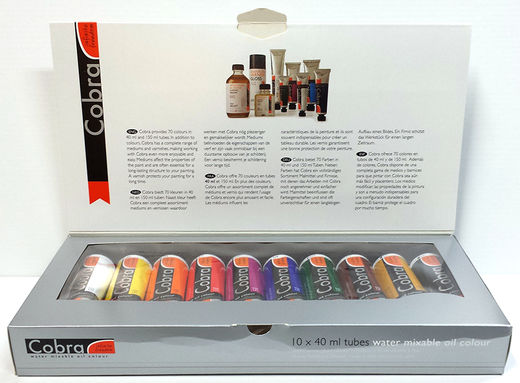 Cobra Water Mixable Oil Colors