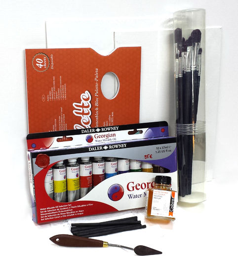 Water Soluble Oil Color Set