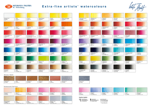 White Nights Colorchart