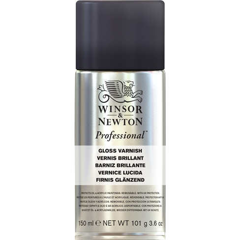 Winsor & Newton Gloss Varnish Spray