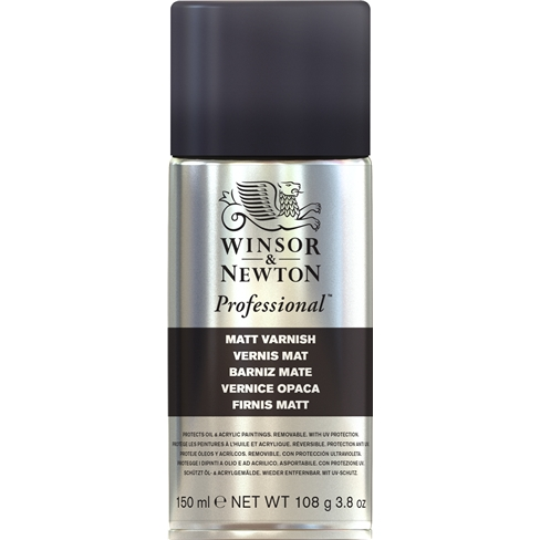 Winsor & Newton Matt Varnish Spray