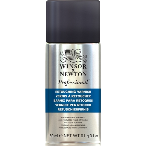 Winsor & Newton Retouching Varnish Spray